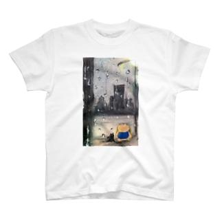 雨の中 T-shirts
