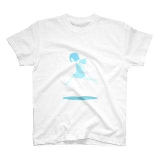 みずいろのてんし T-shirts