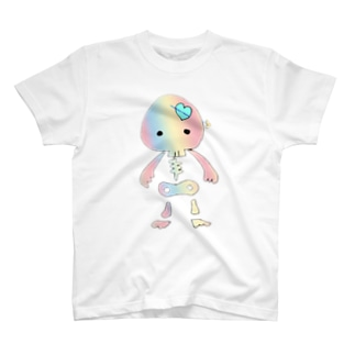 ドクロちゃん(レインボー) T-shirts