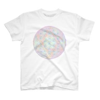 Rainbow Flower of Life & Hexagram T-shirts