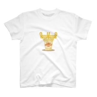 土器ヌードル T-shirts