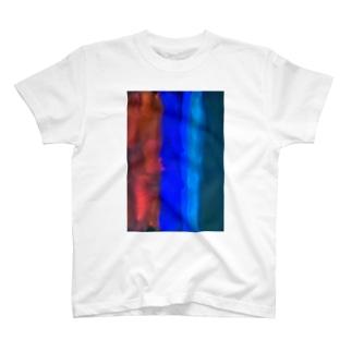 ORANGE BLUE T-shirts