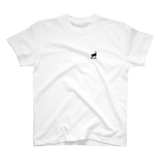 ネコとBIG LOVE T-shirts