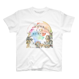 Save our PLANET【文字入り】 T-shirts