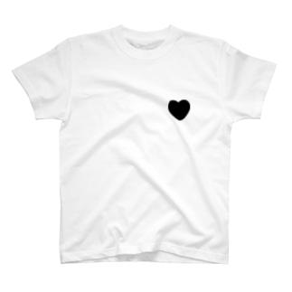 バックプリントTシャツ 黒 T-shirts