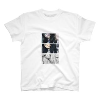イラスト過程 プリントTシャツ T-shirts