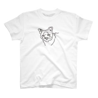 愛くるしいブサイクすぎる猫 T-shirts