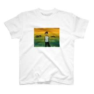 夕焼けボーイ T-shirts