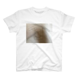 三次元ポケット付シャツ T-shirts