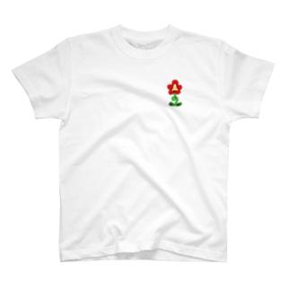 ワンポイントおはな T-shirts