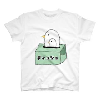 おやこどり(ティッシュ命) T-shirts