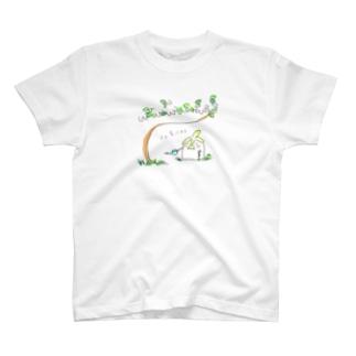 長老の盆栽 T-shirts