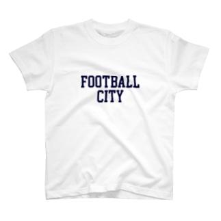 FOOTBALL CITY2 T-shirts