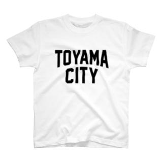 toyama city 富山ファッション アイテム T-shirts