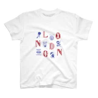 Cities in the World - London (Union Jack) T-shirts