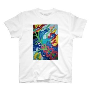 パンタ-レイ T-shirts