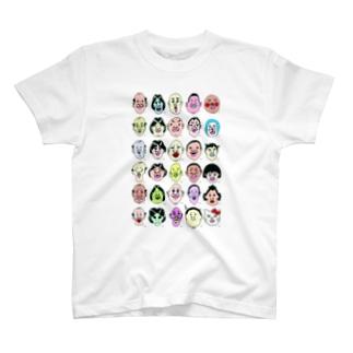 30顔面占い T-shirts