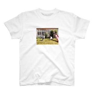 ブランコ遊び T-shirts