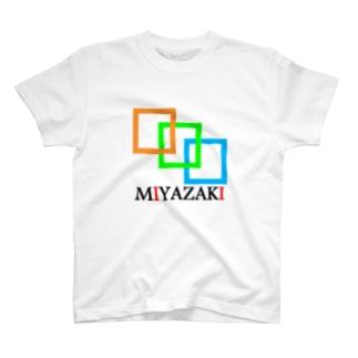 mIyazakI(宮崎) T-shirts