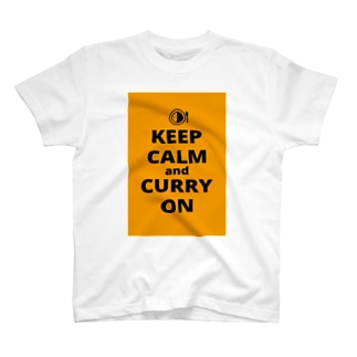 KEEP CALM AND CURRY ON T-shirts