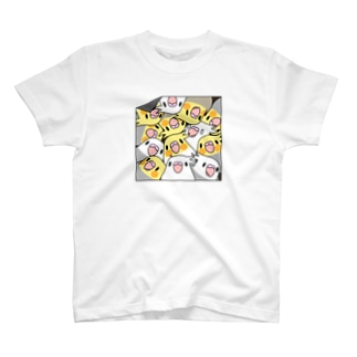 三密です!むちむちオカメインコさん【まめるりはことり】 T-shirts