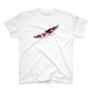 三密です!むちむちフィンチさん【まめるりはことり】 T-shirts
