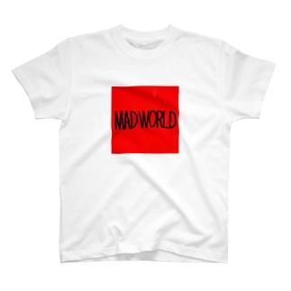 MADWORLDーchas Red T-shirts