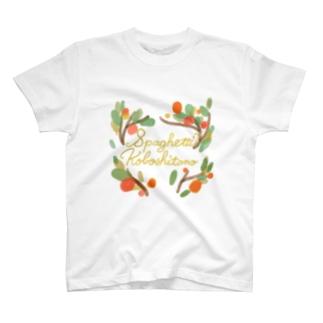 SPAGHETTI KOBOSHITANO T-shirts
