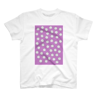 バレーボール Purple T-shirts