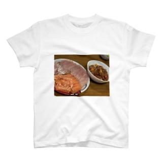ある日の晩ご飯 T-shirts