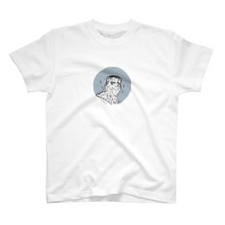 豆鉄砲オオタカ T-shirts