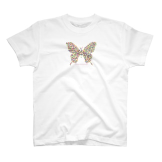 Love flies into the mosaic. T-shirts
