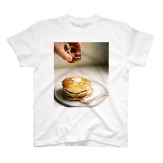 bfs art - pancakes T-shirts