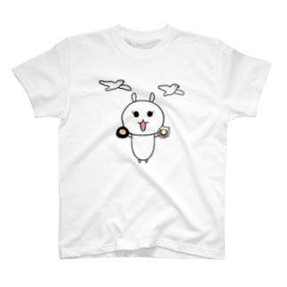 北海道きらぽろちゃん。ほたてとウニを添えて。 T-shirts