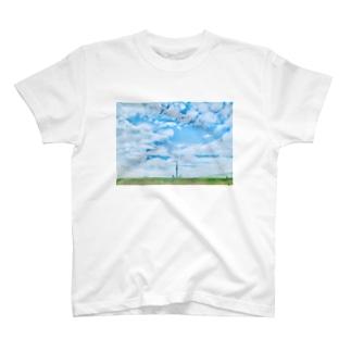 en_madeのスカイツリー T-shirts