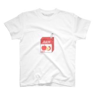 リンゴジュース T-shirts