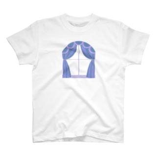 透明な窓 T-shirts