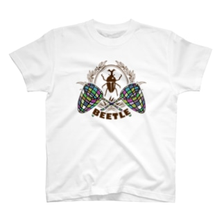 カブトムシ(BEETLE) T-shirts