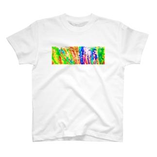 マクロな世界 T-shirts
