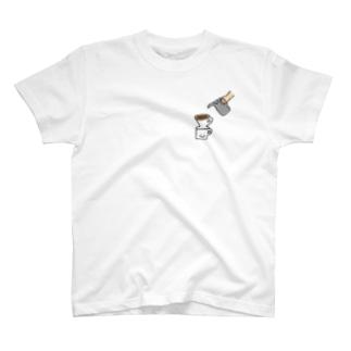 珈琲抽出 T-shirts
