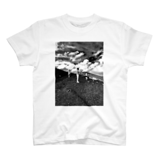 風流白黒Tシャツ2 T-shirts
