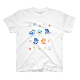 はっぴ~さま~にゃもT T-shirts