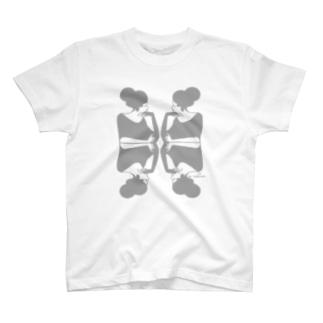 語らう淑女 03 T-shirts