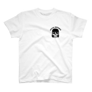 Life Design Factory PINCEのかっこいいソーシャルディスタンス T-Shirt
