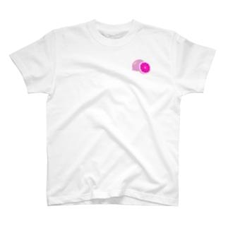 檸檬 pink T-shirts
