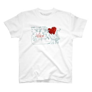 読書と男の子と女の子 T-shirts
