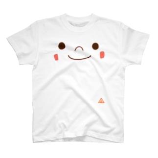 ともSUN かお T-shirts