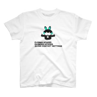 3Cs[三密を避けよう] T-shirts