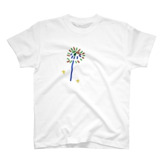 中俣意匠研究所の小2の絵(花火)2 T-Shirt