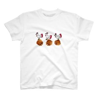 唐揚げ食いたい T-shirts